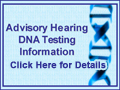 Advisory Hearing DNA Testing